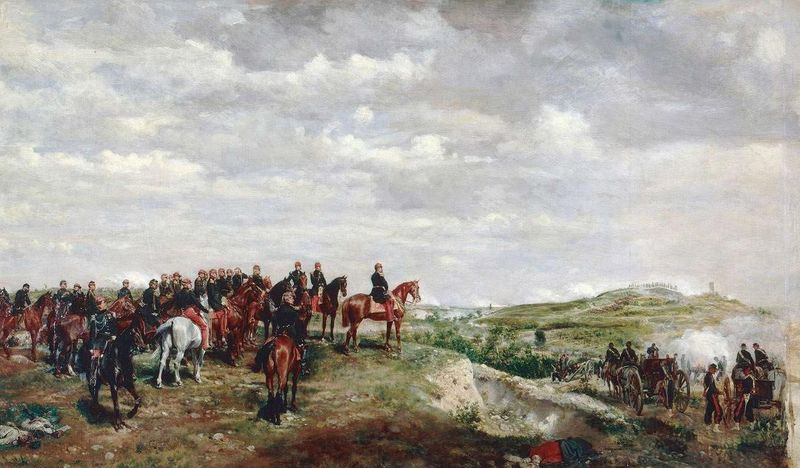 The Battle of Solferino Napoleon III