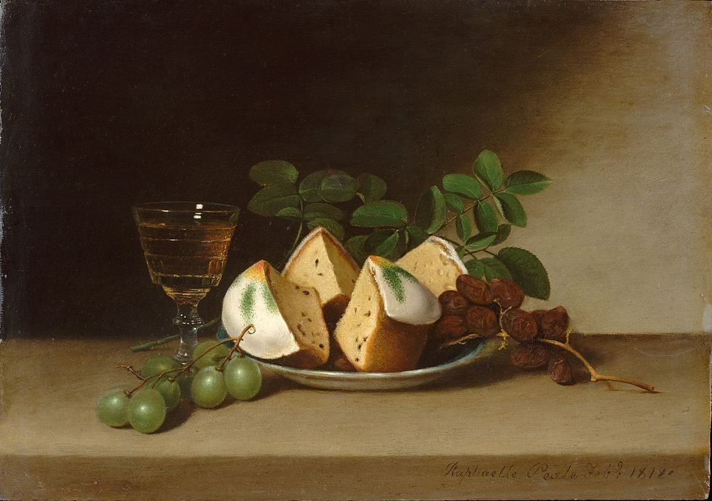 Still Life With Cake Raphaelle Peale