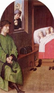 The Dowry for Three Virgins Gerard David