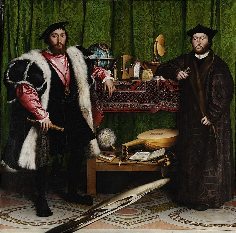 The Ambassadors Hans Holbein the Younger