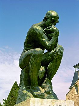 Le Penseur (The Thinker) Auguste Rodin