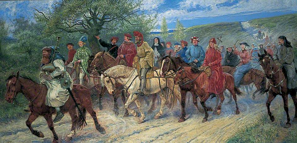 Canterbury Pilgrims Paul Hardy