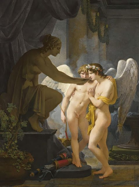 Cupid and Hymen Drink From the Cup of Friendship