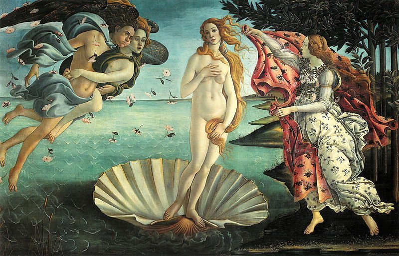 The Birth of Venus Botticelli