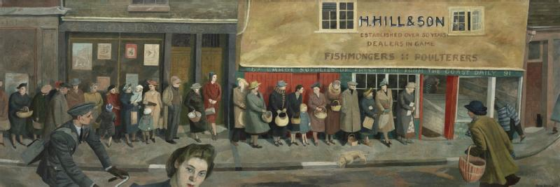 The Queue at the Fish Shop