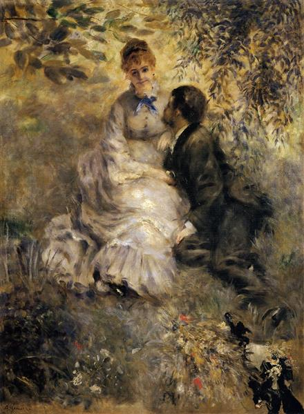 The Lovers Pierre-Auguste Renoir