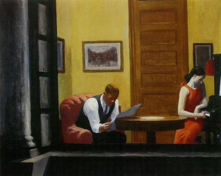 Room in New York Edward Hopper