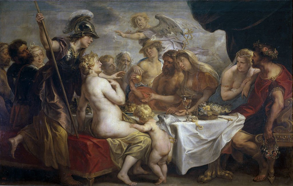 The Golden Apple of Discord Jordaens