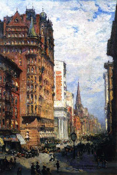 Fifth Avenue New York Colin Campbell Cooper