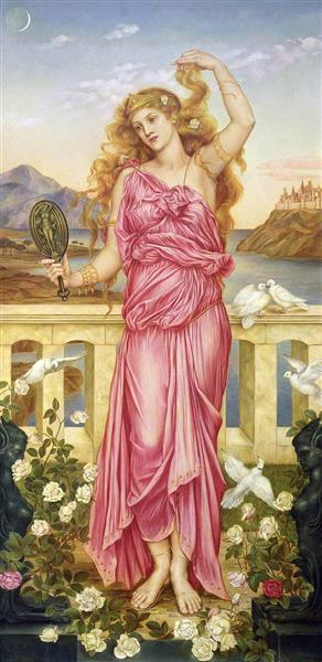 Helen of Troy Evelyn de Morgan
