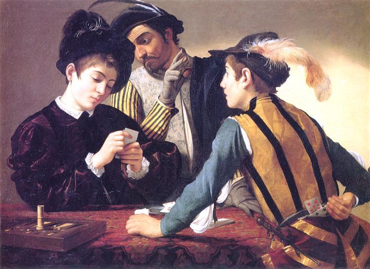 Cardsharps Caravaggio