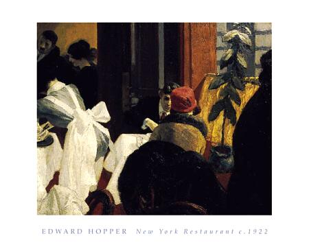 New York Restaurant Edward Hopper