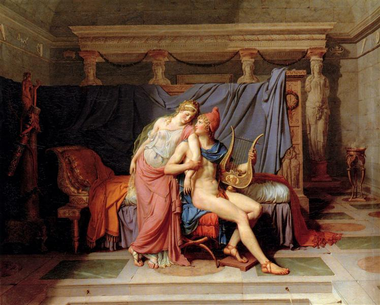 Paris and Helen Jacques Louis David