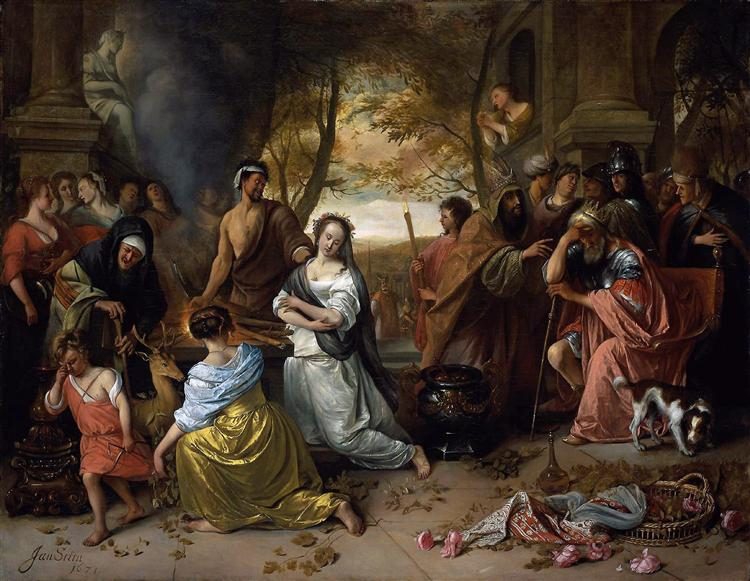 The Sacrifice of Iphigenia Jan Steen