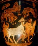 Diomedes and Odysseus Strealing Rhesus' Horses