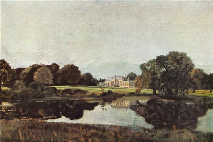 Malvern Hall by John Constable