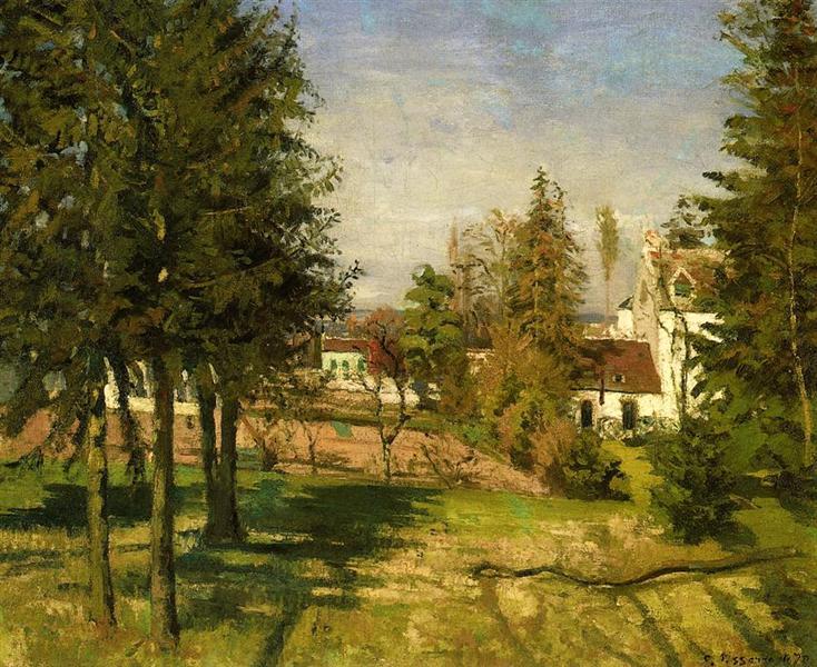 The Pine Trees of Louvciennes