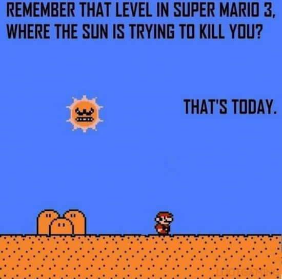 Remember that level