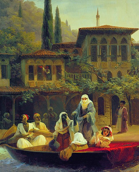 Boat Ride by Kumkapi in Constantinople
